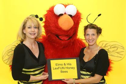 Elmo & His LexFUN Honey Bees