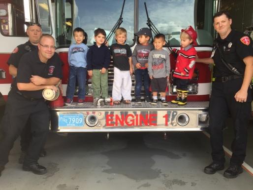 Fire Station visit November 2015