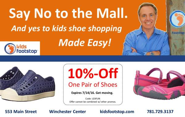Kids Footstop June16